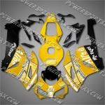 Injection Molded Fit CBR1000RR 04 05 Alice Yellow Black Fairing ZN559, Free Shipping!