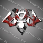 For CBR929RR 00 01 Red WHite ABS Fairing 90N24, Free Shipping!
