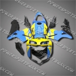 Injection Molded Fit CBR600RR 05 06 Yellow Cyan Fairing ZN1063, Free Shipping!