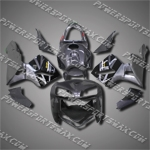 Injection Molded Fit CBR600RR 05 06 Grey Black Fairing ZN103, Free Shipping!