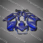 For ST1300 Pan-European 02-08 Candy Blue ABS Fairing 13N23-handcraft, Free Shipping!