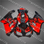 Injection Molded Fit CBR1000RR 04 05 Red Flames Fairing ZN042, Free Shipping!