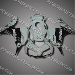 Injection Molded Fit CBR1000RR 06 07 Black White Fairing ZN676, Free Shipping!