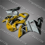 Fairing For Yamaha 1998 1999 2000 2001 2002 YZF-R6 Plastics set Injection mold, Free Shipping!