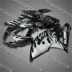Fairing For Suzuki 2005 2006 GSXR GSX-R 1000 K5 Injection Mold Plastics Set, Free Shipping!