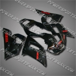 Fairing For Yamaha 1998 1999 2000 2001 2002 YZF R6 Plastics set Injection mold, Free Shipping!