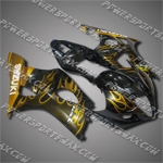 Fairing For Suzuki 2003 2004 GSXR 1000 K3 Injection Molding Plastics Set, Free Shipping!