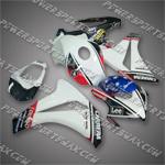 Honda 2008 2009 CBR 1000 RR Fairing Plastics Set Injection Molding Body Work, Free Shipping!
