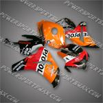 Fairing For 2008 2009 Honda CBR 1000 RR Plastics Set Injection Molding Body Work, Free Shipping!