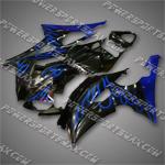 Fairing For YAMAHA 2008 2009 2010 YZF R6 Plastics Set Body Work Injection Mold, Free Shipping!