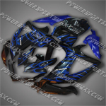 Fairing For 2008 2009 Suzuki GSXR GSX-R 600 750 K8 Plastics Set, Free Shipping!