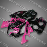 Suzuki 2004 2005 GSX-R 600 GSXR 750 K4 Fairing Plastics Set Injection Molding, Free Shipping!