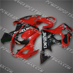 Fairings For 04-05 Suzuki GSXR 600 750 K4 Plastics Set, Free Shipping!