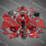 Fairing For Suzuki Hayabusa GSX1300R 99-07 Red Fairing ZZ491, Free Shipping!