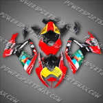 Injection Molded For Suzuki GSX R600 06 07 K6 JOMO Fairing 66Z24, Free Shipping!
