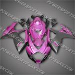 Suzuki GSX-R600 06 07 K6 Hot Pink Fairing 66Z62, Free Shipping!