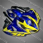 Fairing For 2006 2007 Honda CBR 1000 RR Plastics Set Injection mold Body Work, Free Shipping!