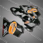 Fairing For Honda 2001 2002 2003 CBR 600 F4I Plastics Set Injection Molding, Free Shipping!