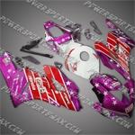 Honda CBR1000RR 04 05 Castrol Red Purple Fairing, Free Shipping!