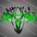 Honda CBR1100XX Blackbird Green ABS Fairing 11N23, Free Shipping!