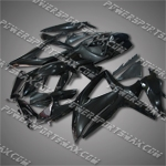 Suzuki 2008 2009 GSXR 600 GSX-R 750 K8 Fairing Plastics Set Injection Molding, Free Shipping!