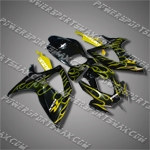 Fairing For 2006-2007 Suzuki GSX-R 600 750 K6 Plastics, Free Shipping!