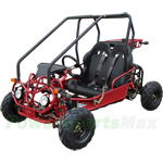 GK-F015 110cc Kid Size Go Kart with Automatic Transmission w/Reverse and Remote Control!