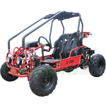 GK-F031 X-PRO 125cc Kids Go Kart with Automatic Transmission w/Reverse! Remote Control! LED Headlights and LED Turn Signal Indicator!