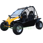 "GK-F035 200cc Go Kart with CVT Automatic Transmission w/Reverse, Oil-cooled Engine! Big 21/22"" Aluminum Tires!"