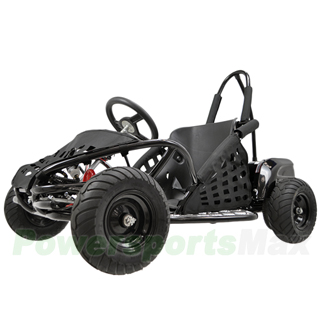 Gk L001 1000w Kids Electric Go Kart With Reverse And Disc Brake Sd Control 3 Settings Manual Switch
