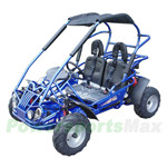 Free Shipping! TrailMaster MID XRX/R 200cc Kid Middle Size Go Kart with Automatic CVT Transmission w/Reverse, 6.3HP General Purpose Engine!