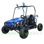 "GK-T006 Jeep Auto Go Kart with Fully Automatic Transmission w/Reverse, Disc Brakes, Roof Lights! Big 16"" Wheels!"
