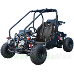 "GK-T008 110cc Go Kart with Fully Automatic Transmission w/Reverse, Hydraulic Disc! Big 16"" Wheels!"