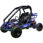 "GK-W003 110cc Go Kart with Fully Automatic Transmission w/Reverse, Hydraulic Disc! Big 14.5"" Wheels!"