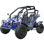 "GK-W011 150cc Go Kart with Automatic Transmission/Reverse! Electric Start! Big 23""/22"" Wheels!"