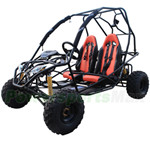 GK-X04 200cc Go Kart with CVT Transmission w/Reverse, Front & Rear Disc Brakes! Free Gifts!
