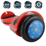 "Free Shipping! X-PRO Red 6.5"" Self Balancing Scooter Hoverboard, LED Lights! Exclusive Style!"