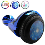 "Free Shipping! X-RPO Blue 6.5"" Self Balancing Scooter Hoverboard with Bluetooth Speaker, LED Lights! Exclusive Style!"