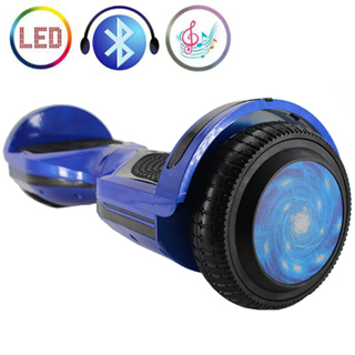 Hoverboard with Bluetooth LED