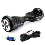 "Black Two-wheel Smart Electric Balancing Scooter Hoverboard, 6.5""tires, with Remote Control & Free Carrying Bag! Free Shipping!"