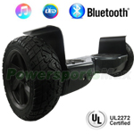 "8.5"" All-Terrain UL2272 Certified Self Balancing Scooter Hoverboard, Bluetooth Speakers, Free Shipping!"