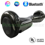 "6.5"" Chrome UL2272 Certified Self Balancing Scooter Hoverboard, Bluetooth Speaker, LED Lights, Free Shipping!"