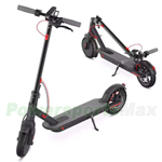 350W Hub Motor Foldable and Portable Commuting Electric Scooter, Safety Solid Tire and LED Light, Double Braking System! Free Shipping!