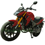 "Lifan KP 200cc Electronic Fuel Injection Street Motorcycle with 6-Speed Manual Transmission, Electric Start! 17"" Alloy Wheels!Fully Assembled In Crate!"