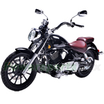 "Lifan Lycan 250cc Electronic Fuel Injection Street Motorcycle with 5-Speed Manual Transmission, 18""/15"" Alloy Rim Wheels! Fully Assembled In Crate!"