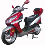 "Vitacci Eagle 150cc Moped Scooter with USB/SIM System! 13"" Wheels! Electric/Kick Start! Rear Trunk!"