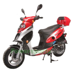 "Vitacci Bahama 150cc Urban Sports Moped Scooter with 13"" Wheels, Electric / Kick Start! Rear Trunk!"