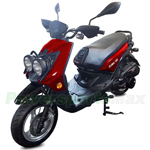 "Vitacci Zoma 150cc Moped Scooter with 13"" Wheels! Electric/Kick Start! Disc/Drum Brakes!"