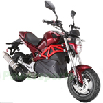 "Vitacci Rocket 50cc Sport Motorscooter with 12"" Wheels! Electric/Kick Start!"