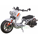 "MC-Q003 150cc Maddog Scooter with Automatic Transmission and Electric/Kick Starter! 12"" Big Tires!"